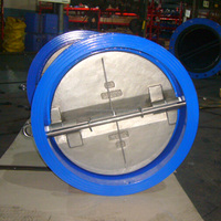 API standard cast iron wafer type check valve 20""