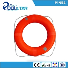 Swim Foam Ring Buoy Swimming Pool Safety Life Preserver W/nylon cover kid child adult