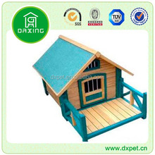 Pet House Dog Kennel With Veranda For Sale DXDH014