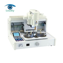 China best quality laboratory equipment automatic lens drilling machine