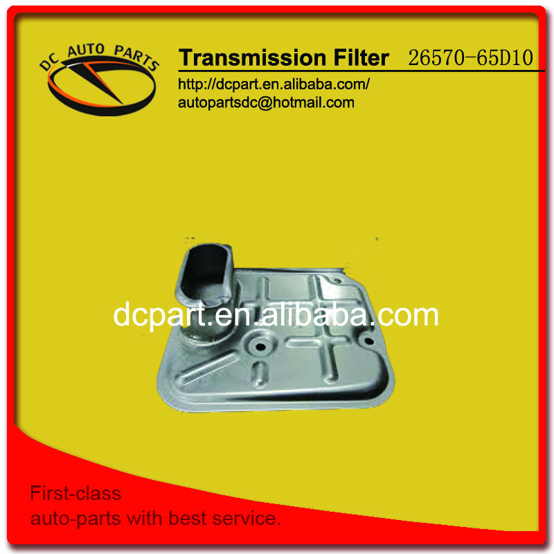 Transmission filter for 26570-65D10 SUZUKI