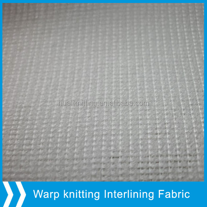 Weft-inserted fabric for making garment liner