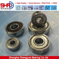 High speed Deep groove ball bearing gate hinges 608Z 600 irs skateboard bearing series