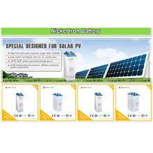 Find 1.2V NIFE Nickel Iron 12V 24V 48V 250AH 500AH 1000AH 1200AH Special Designed <strong>Battery</strong> For Solar System PV