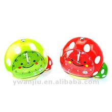 Supply fashion cute talking alarm clock small order