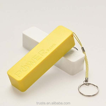 perfume cute gift power bank 2000amh 2200mah 2600mAh with key chain for smartphone