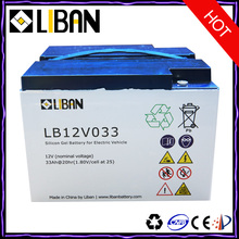 12V 33Ah Lead Acid Electric Scooter Battery