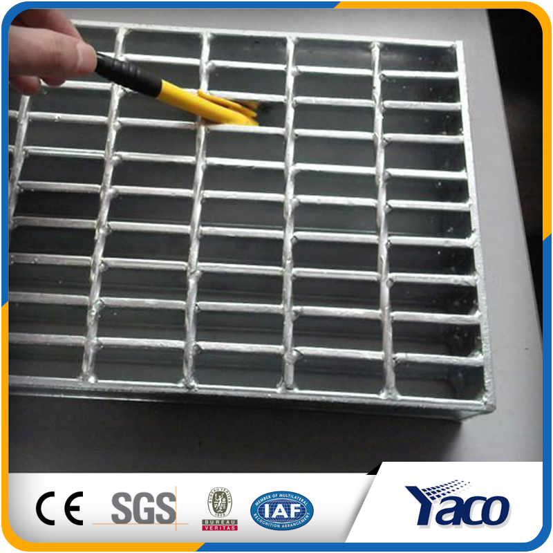 Factory direct sale Hot Dipped Galvanized Steel Grating for Projects