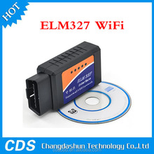 2015 Newest ELM327 WIFI elm 327 Scanner OBDII OBD2 Auto Diagnostic Tool Support Iphone Ipad Android and Windows