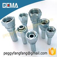 hydraulic female fittings Laike hydraulic hose fitting and ferrule hydraulic hose flange,hydraulic press,stainless steel fitting
