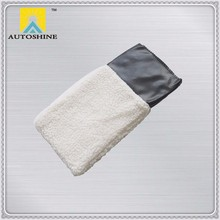 OEM ODM Factory Best Selling Mothers genuine lambsWool Wash Mitt