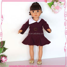 2017 Chinese nude doll pretty girl loli dolls 18 inch wholesale