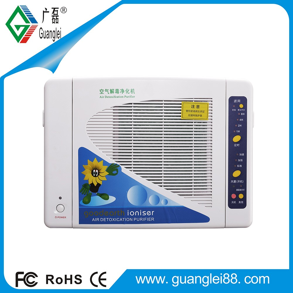 Industrial air ionizer purifier remove PM2.5 and odor