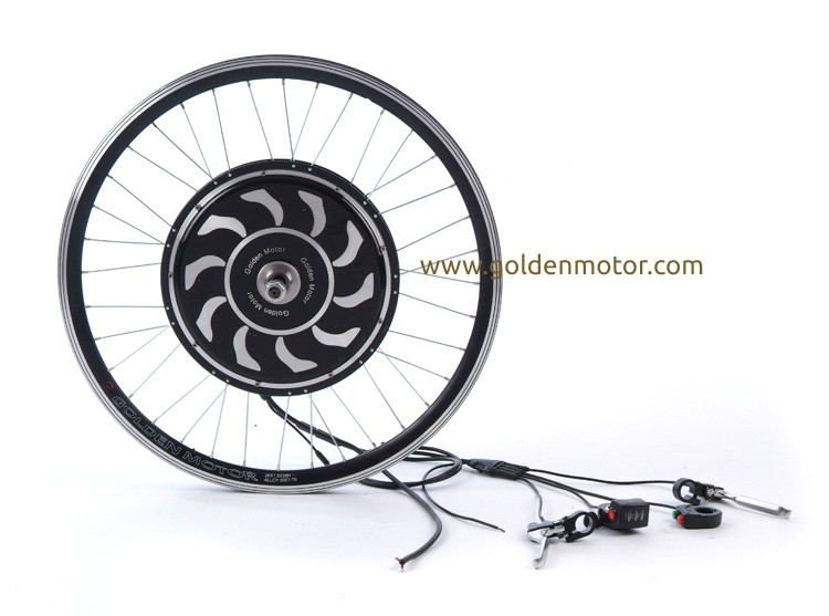 MagicPie 3 electric bicycle hub motor, electric bicycle conversion kit with built-in / programmable controller