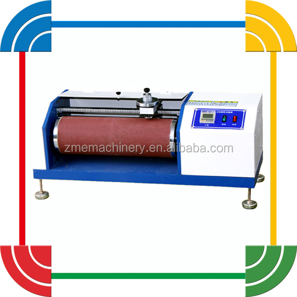 DIN Abrasion Resistance Testing Machine For Leather