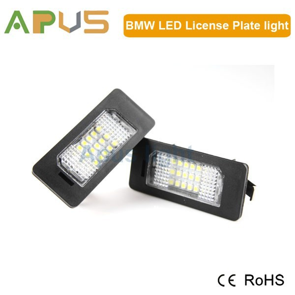 2 years warranty led license plate light for E39,E46,E60,E61,E70,E90
