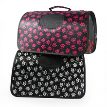 Stylish Paw Printingl Pet Products Dog Traveling Bag Carrier