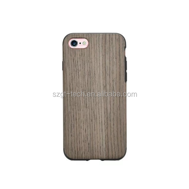 Eco-friendly wood for iPhone 7 case, for iPhone 7 wood case, wooden phone case for iPhone 7 case tpu