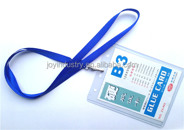 J808 Promotional Lanyard With ID Card Holder