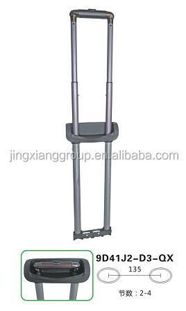 2014 China Manufacturer Luggage Spare Parts Telescopic Suitcase Handle For Handle Trolley Luggage