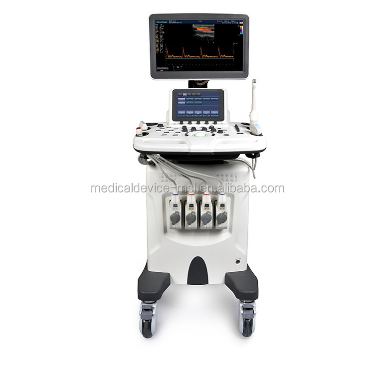 New arrival high performance LED monitor movable ultrasound unit S30
