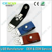 wholesales mini leather usb flash drive 2.0 with different colors
