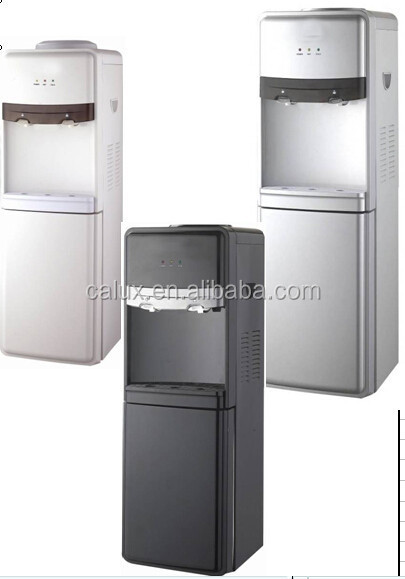 2014 new design Hot & Cold Type and Stainless Steel Housing Material bottom loading bottle water dispenser
