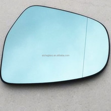 double radiushigh grade blue car mirror
