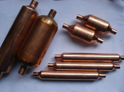 copper accumulators copper muffler