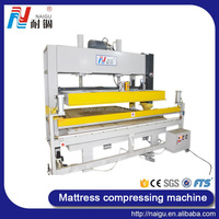 China Foshan NaiGu manufacturer mattress&foam semi-automatic vacuum compression packaging machine