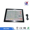 15inch Industrial table panel touch embedded touch pc with WIFI / 3G