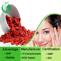 GMP supply goji extract powder/fresh goji berries/goji berry powder