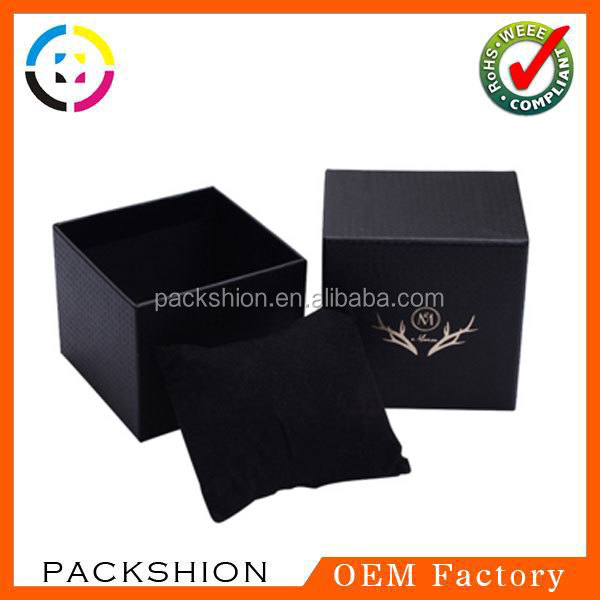 Fashion Design Luxury Gift Box with Pillow Insert for Watch Package