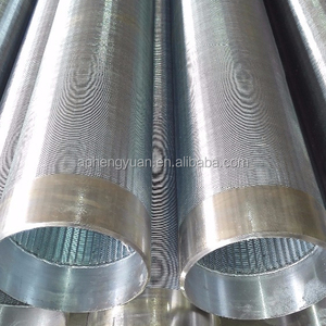 Johnson water well filter slotted screen drill pipe