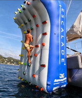 floating Inflatable Climbing Wall lake game