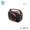 6 inch super bass portable speaker with fm radio usb sd mini car speaker with belt