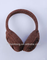 winter knitted earmuff