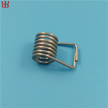 Manufacturer zinc plated carbon steel torsion load clothespin spring