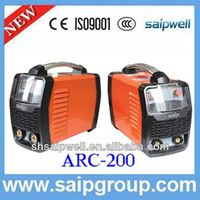 High frequency double pulse mig welder
