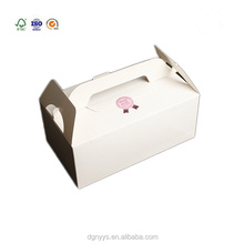 Custom frozen food packaging sweet box art paper cake boxes