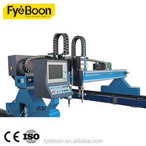 Plasma and air flame cutting machine with inverter