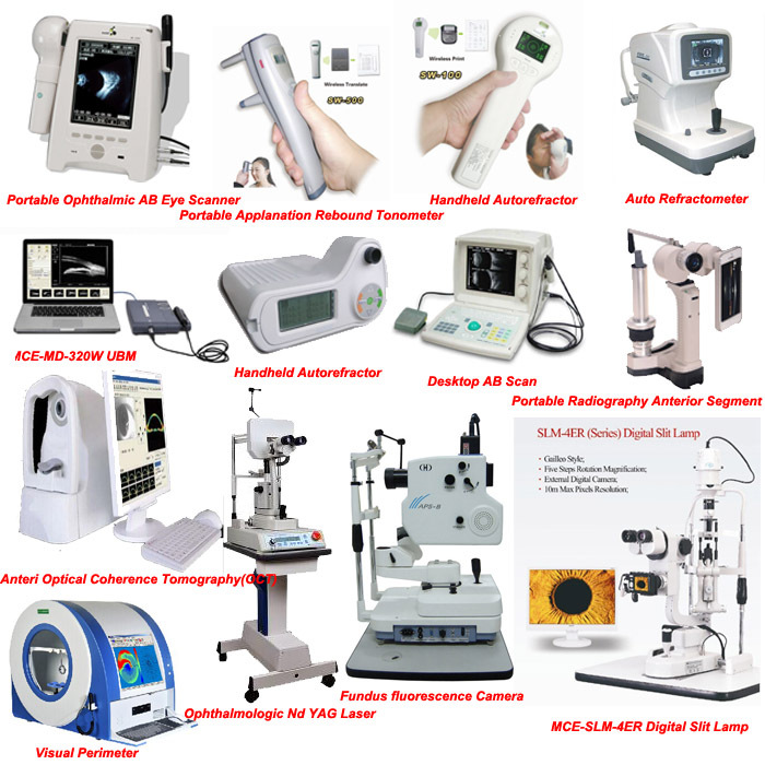 Wireless China Ophthalmic hand held tonometer, Intraocular Pressure Rebound Portable Tonometer