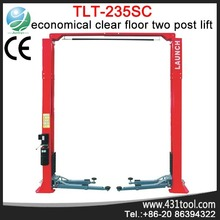 Better value and portable LAUNCH TLT235SC 2 post auto lifting tool ramp with removable stand