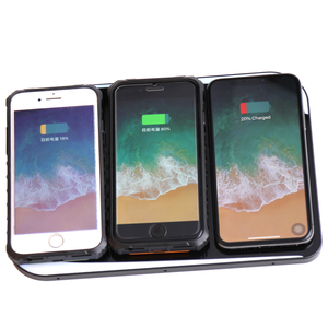 Qi Wireless Fast Charger For Iphone And Samsung with Micro Usb Port Hub