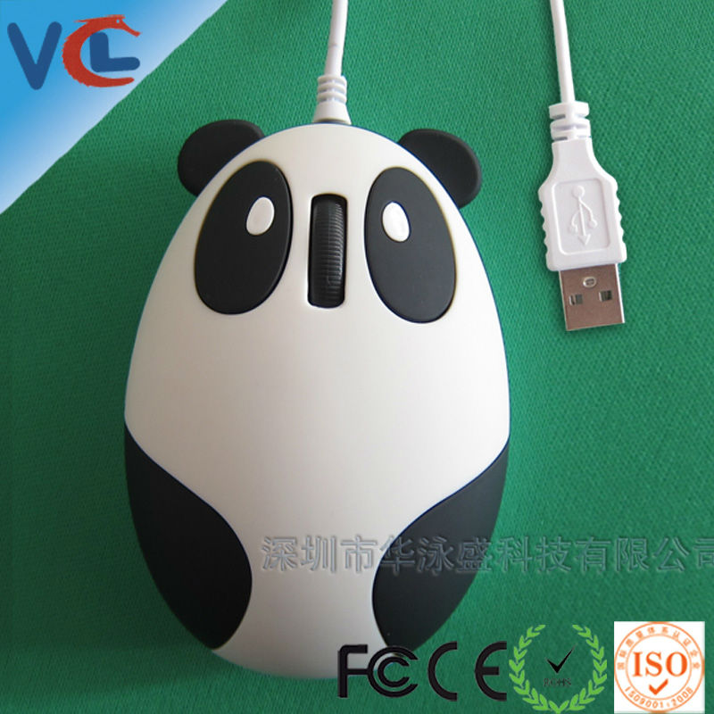 Free sample, 3d wired usb computer optical mouse