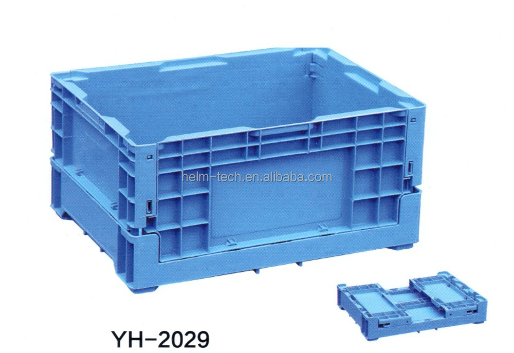 foldable plastic crate pallet box for fruits and vegetables