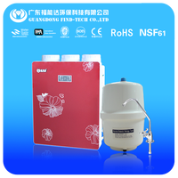 "nsf certificated 10"" cto carbon block water purifier/filter/cartridge 5 stage china red case"