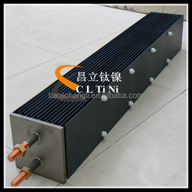 MMO Titanium Anodes for Cells of Chlorine