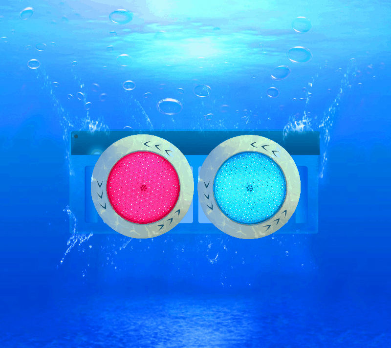 RGB IP68 fiberglass pool no niche led underwater Light.led pool light.18W/23W/30/33W/60W