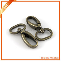 Various solid brass snap hook for bag accessory